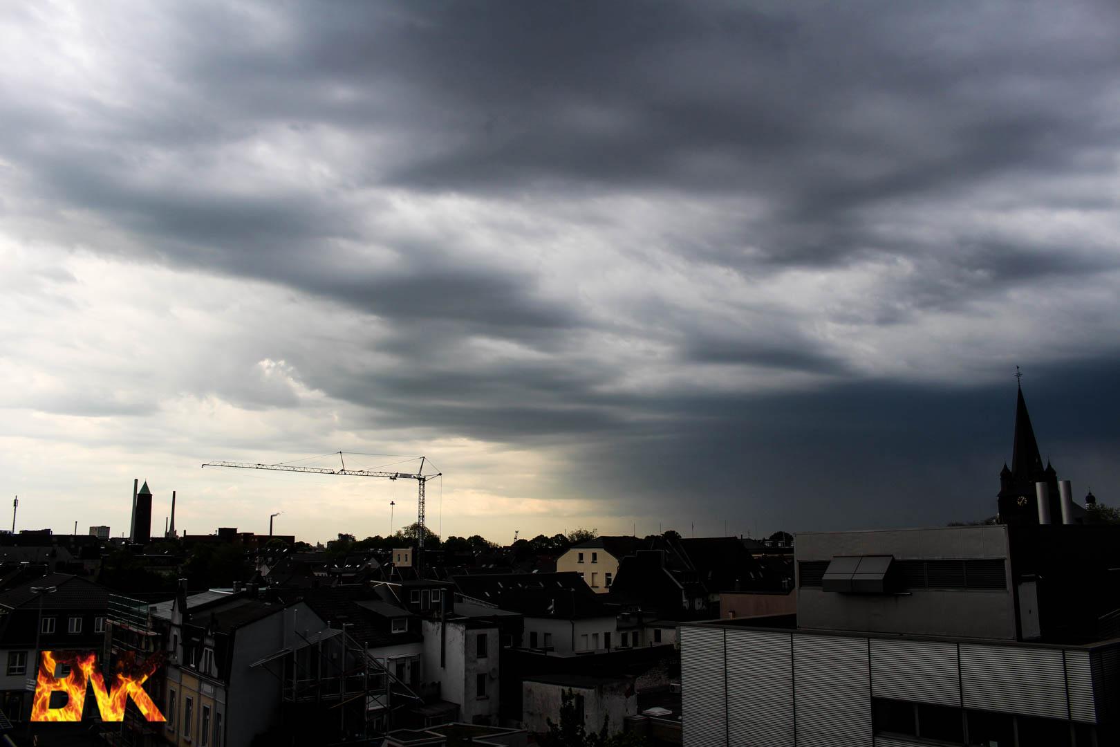 Unwetterwarnung Krefeld